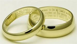 engraved wedding rings 15 most unique engravings on wedding rings