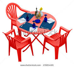 Plastic Table And Chairs Plastic Table And Chair Stock Images Royalty Free Images