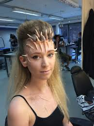 final makeup demon costume headpieces and horn