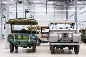 land rover series 1 time travel agents jaguar land rover u0027s new classic works hq by