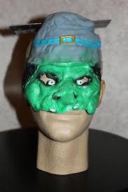 goblin kids mask troll halloween costume child boys girls green