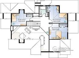 mezzanine floor plan house house plan w2694a detail from drummondhouseplans com