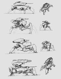 concept robot sketches by jake parker future pinterest