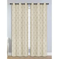 Eclipse Fresno Blackout Curtains by Eclipse Microfiber Blackout Beige Grommet Curtain Panel 84 In