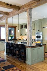 modern country kitchen just love this modern country kitchen with exposed wood beams for