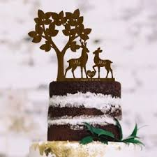 buck and doe cake topper silhouette cake toppers page 1 of 2 wedding products on