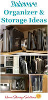 Home Storage Solutions Bakeware Organizer U0026 Storage Ideas