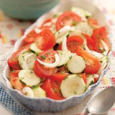 summer tomato onion u0026 cucumber salad recipe eatingwell