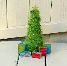 Mini Christmas Tree Crafts - mini light up christmas tree one artsy mama