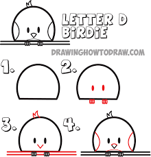 huge guide to drawing cartoon animals from the uppercase letter d