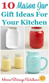 Gift Ideas Kitchen 10 Mason Jar Gift Ideas For Your Kitchen Beautiful U0026 Useful