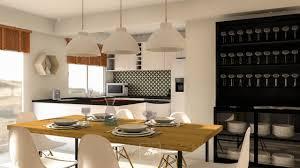 aménagement cuisine salle à manger cuisine ouverte sur salle manger et salon