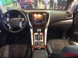 mitsubishi suv 2016 interior all new mitsubishi montero sport now available gadgets magazine