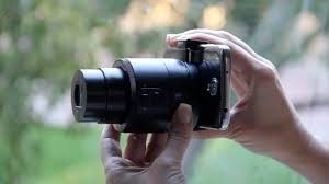 review sony u0027s qx10 and qx100