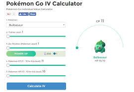 pokemon iv calculator alternatives similar websites