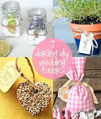 diy wedding favors ideas reception favor creative favour on a budget uk