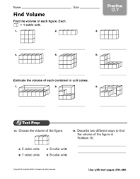 find volume practice 17 7 4th 6th grade worksheet lesson planet