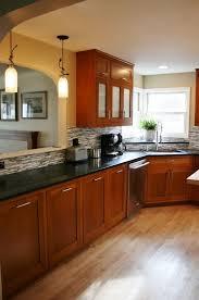cherry color kitchen cabinets aloin info aloin info