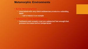 metamorphism and metamorphic rocks ppt video online download