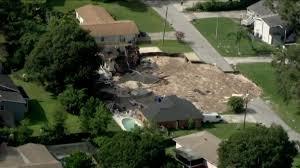 5 homes deemed unsafe after massive sinkhole expands in florida