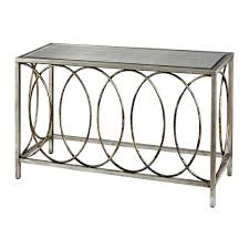 Silver Console Table 36 Inch High Console Table U2013 Thelt Co