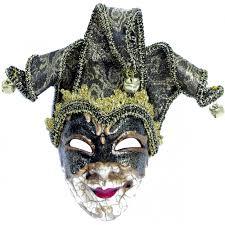 antique jester mask ornament black mardigrasoutlet