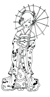 japanese coloring pages japanese fan coloring pages japanese