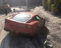 maserati china ferrari and maseratis getting wrecked in china on off road trip