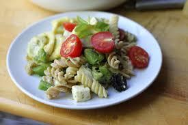 pasta salad pesto cheese tortellini pesto pasta salad recipe genius kitchen