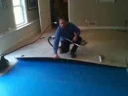 water removal flooded carpet pad water damage youtube