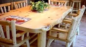 Log Dining Room Table Fascinating Table Chairs Log Captain Ideas Smart Table Chairs Log