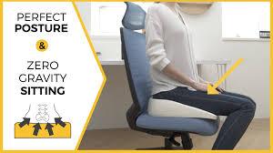 weightless sitting zero gravity upright posture cushion by good