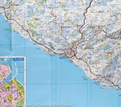 City Map Of Italy by Road Map Of Sicily U0026 Palermo City Map Italy Freytag U0026 Berndt
