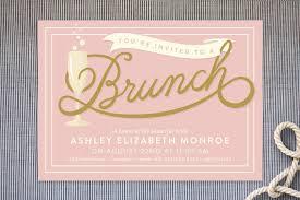brunch invitation template bridal shower brunch invitations badbrya