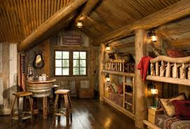 Log Home Interior Designs Lodge Interior Design Ideas 21 Rustic Log Cabin Interior Design