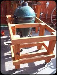 kamado joe grill table plans xl big green egg table plans bbq stuff pinterest big green egg
