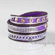 leather crystal bracelet images Crystal bracelets rhinestone bling bling bracelet wrist bands jpg