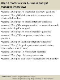 Resume Samples For Business Analyst by Top 8 Business Analyst Manager Resume Samples