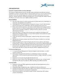 Camp Counselor Job Description For Resume by Resume Cover Letter For Server Position Sample Application