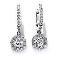heavy diamond earrings diamond earrings heavy diamond earrings manufacturer from meerut