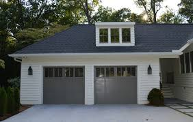 garage doors white exterior amanda orr architecture outdoor