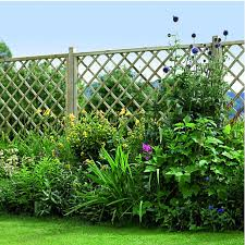 Fence Panels With Trellis Garden Trellis U0026 Screenings Fencing Wickes