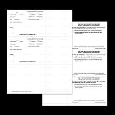 auto insurance cards acord 50 mines press