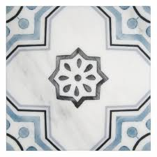 rustic tile patterns on carrara marble for floor more artisan