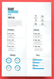 Cool Resume Templates Free Download Creative Resume Templates Free Download Psd Marvellous Cute 8