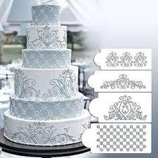 Princess Lace Cake Stencil Set Cake Craft Stencils Cake Border