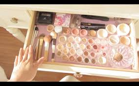 make up dressers asmr makeup collection and vanity dresser tour fairy char