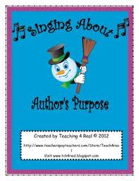 free students understand author u0027s purpose