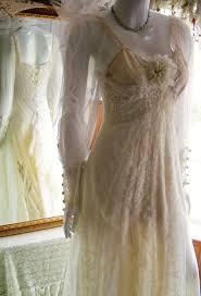 size 6 10 silk lace ivory romantic regency unique shabby chic