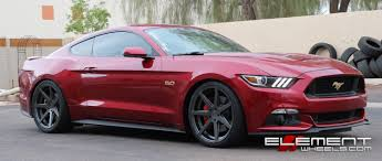 mustang 22 inch rims 20 inch rohana rc7 matte graphite staggered on 2015 ford mustang